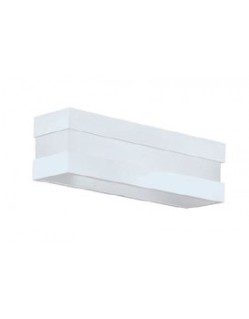 Arandela New Quadrus 2 X E27 LED 470 x 97 mm